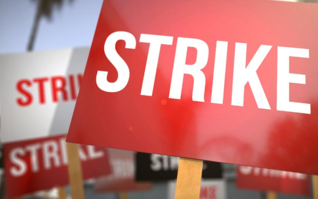 Photo of Allied Health Workers On Sit-Down Strike
