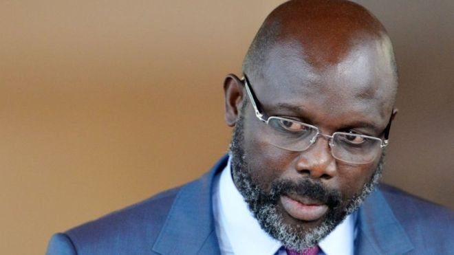Photo of George Weah Suspends Minister Over Ethnic Slur