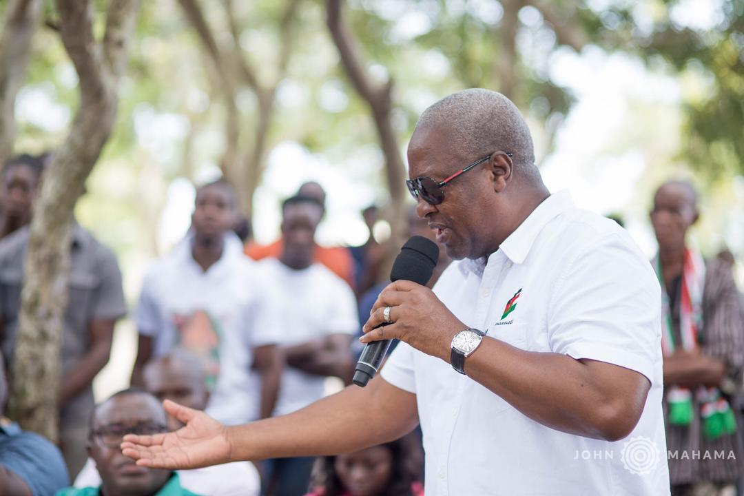 Photo of Photos: John Mahama Heads Out Again  This Morning