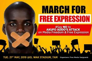 Photo of All Set For 'March For Free Expression' Tomorrow