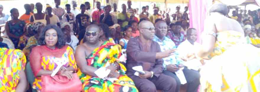 Photo of Akyem Manso Chief Calls For Development During Odwira Festival Celebration
