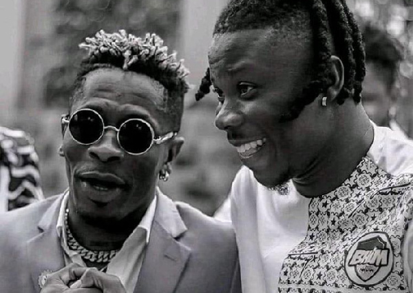 Photo of Shatta Wale's Touching Words To Stonebwoy After Kenya 'Flopped' Concert