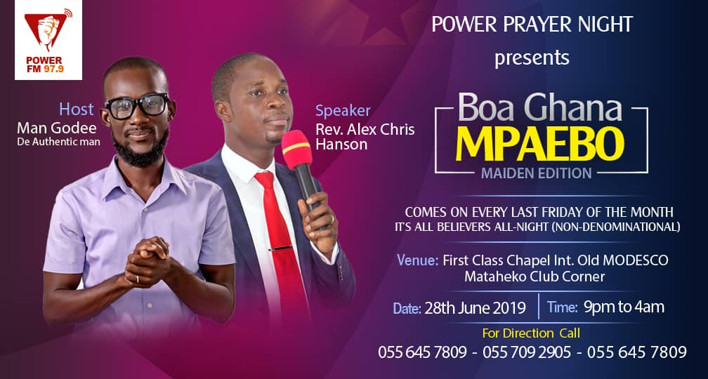 Photo of Join Our Next PPN (Power Prayer Night) 14TH JUNE, 2019: Keys To All-Night Prayer That Releases God's Power