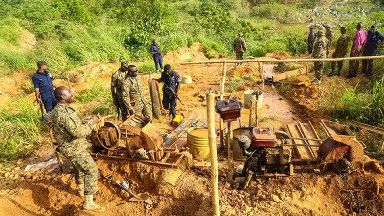 Photo of Operation Vanguard Arrests 15 Chinese Over Illegal Mining