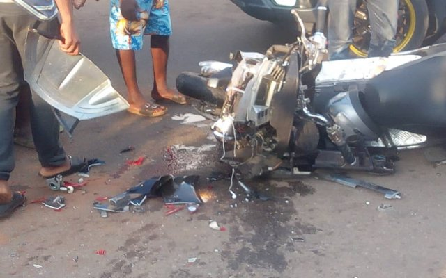Photo of Gory Kumasi Accident Leave 2 In Critical Condition