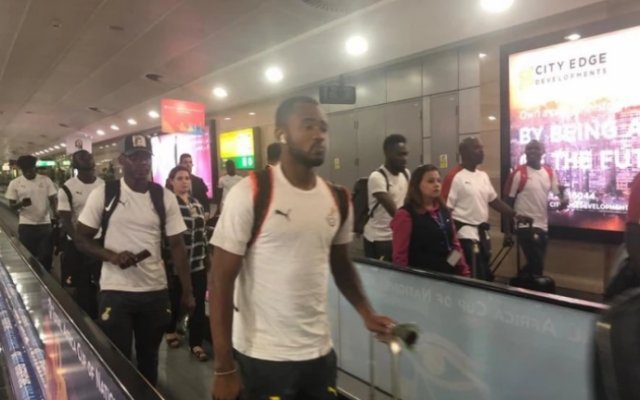 Photo of Black Stars Arrive In Ghana After Early Afcon Exit