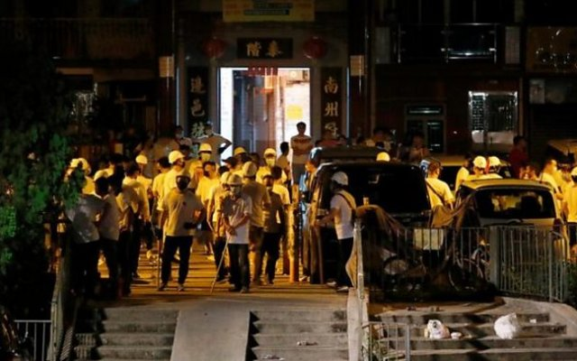 Photo of Hong Kong Reels From Armed Mob