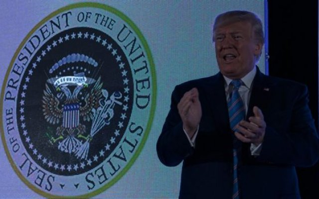 Photo of Trump's Doctored Presidential Seal Leads To Firing