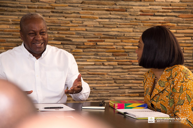 Photo of Be Fair – Mahama To EC