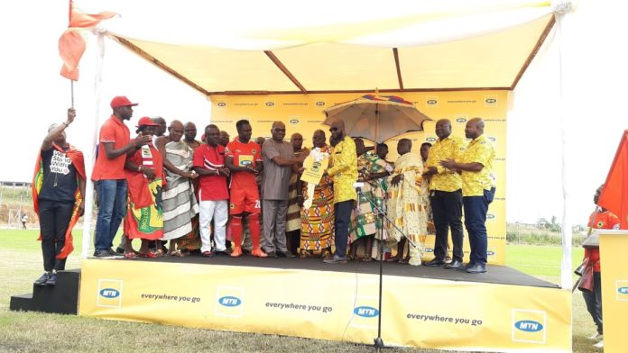 Photo of MTN Ghana Hands Over Ultra-Modern Training Pitch To Kotoko
