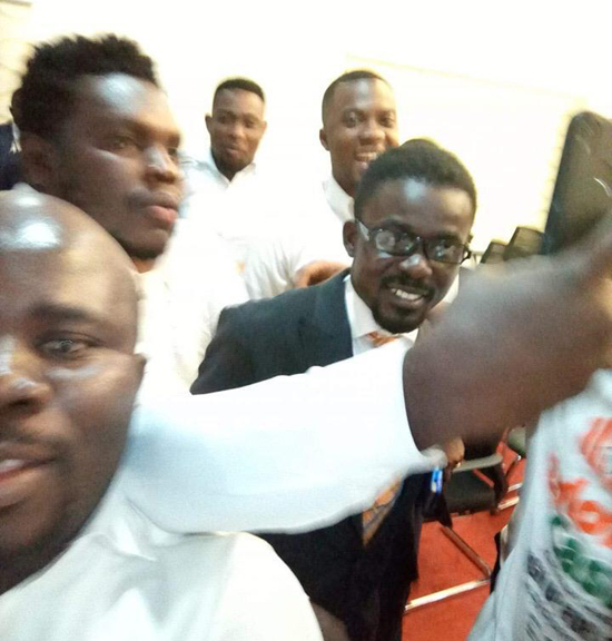 Photo of NAM1 Arrives, Whisked To Police HQ