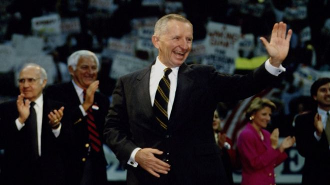 Photo of US Billionaire Ross Perot Dies At 89