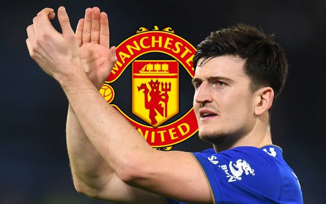 Photo of Man Utd Complete Maguire Signing In World-Record £80m Deal