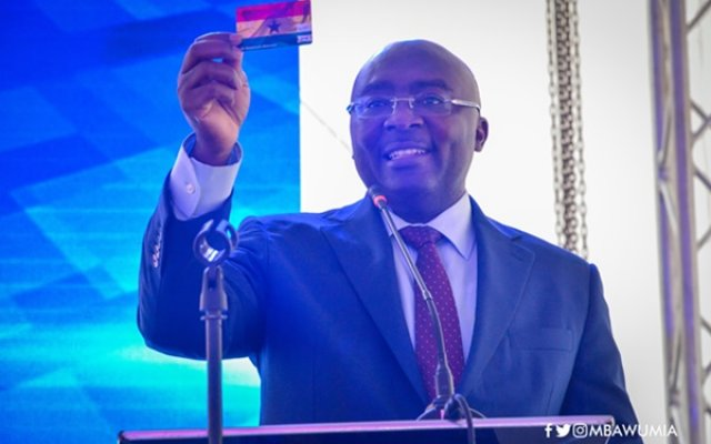 Photo of Bawumia Launches Gh Dual Card