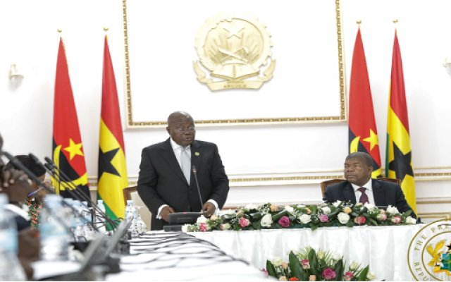 "Photo of ""Ghana-Angola Relations Put On A New Level"" – Akufo-Addo"