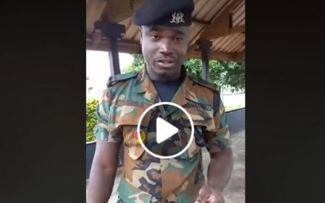 Photo of Free #Dropthatchamber Soldier – Fighters Petition Akufo-Addo