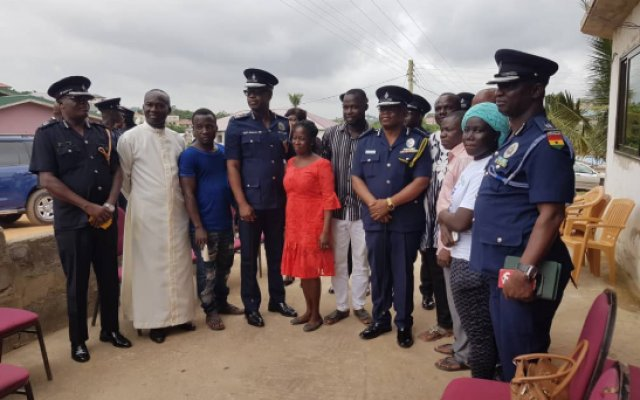 Photo of Acting IGP Visits Families Of Missing T'di Girls