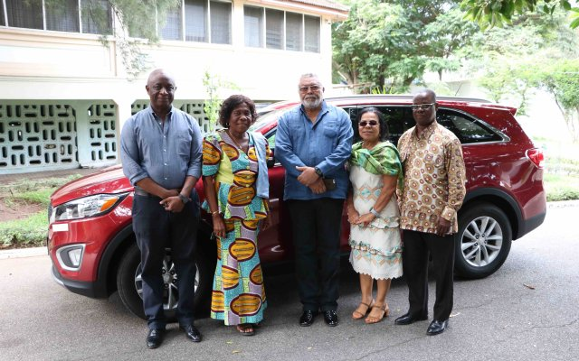 Photo of Rawlings Gifts Ex-MP Vehicle
