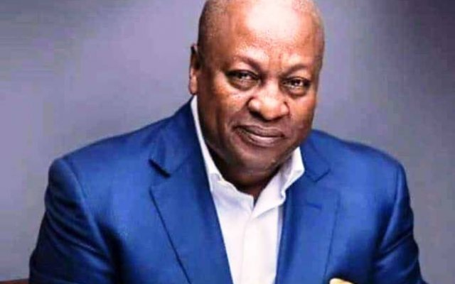 Photo of Mahama Interacts With Public On Facebook Today