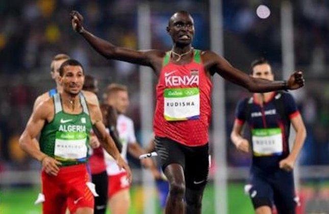 Photo of Kenya's Rudisha Thankful After Surviving Car Crash