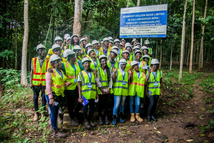 Photo of Akyem: Newmont, JA Hold New Futures For Girls Leadership Camp