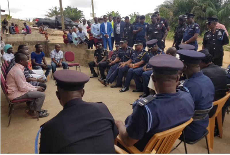 Photo of AG, IGP, Top Officers Visit To Families Of Tadi Missing Girls