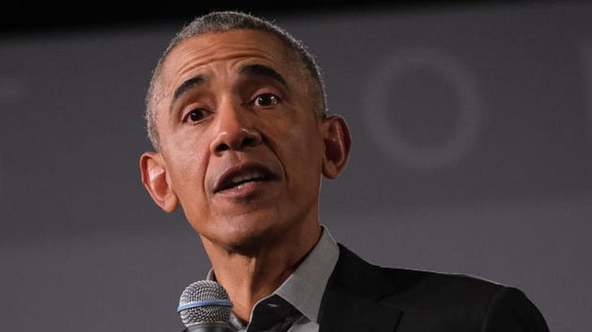 Photo of Obama Urges Americans To Reject Leaders Who Stoke Hatred