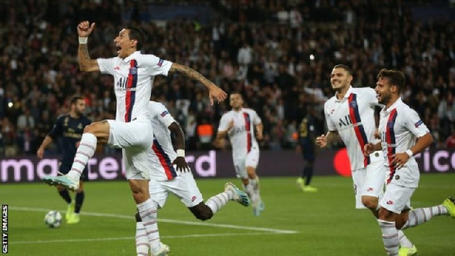 Photo of Dimaria Scores Two As PSG Beat Real Madrid In Champions League