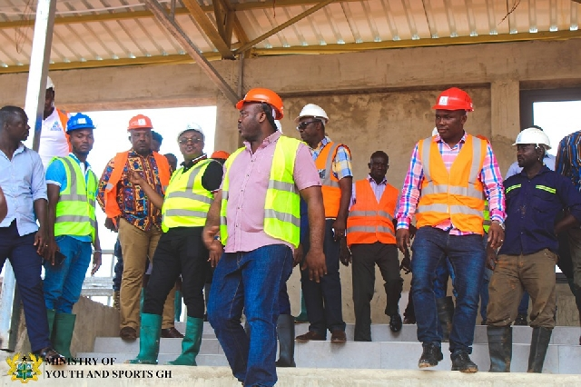 Photo of Asiamah Satisfied With Work On 10 Sports Centres Under Construction