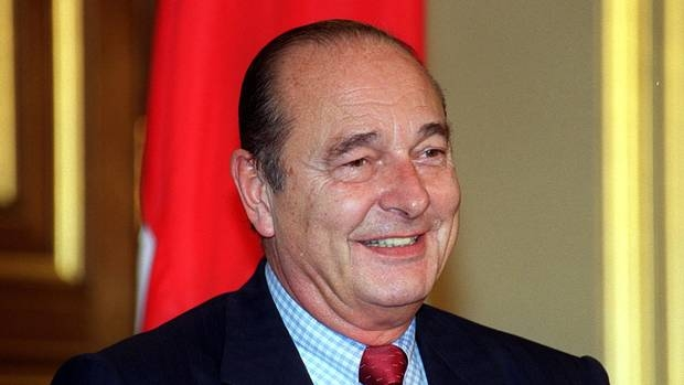 Photo of Former French President Jacques Chirac Dies