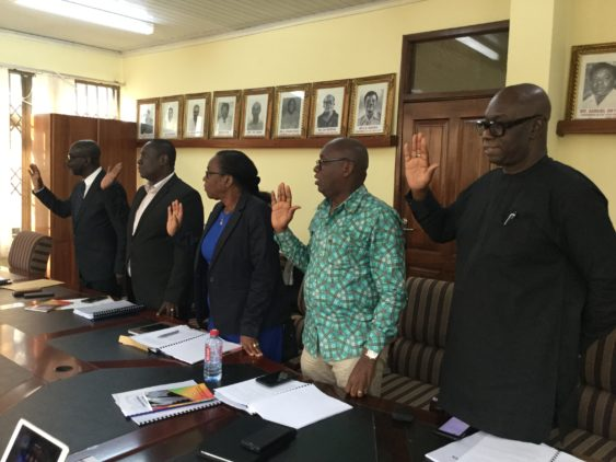 Photo of GFA Elections: Vetting Committee Inaugurated