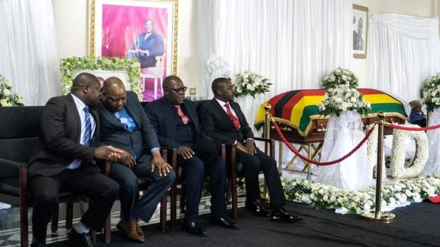 Photo of Mugabe Lies In State As Family Rejects Funeral Plans