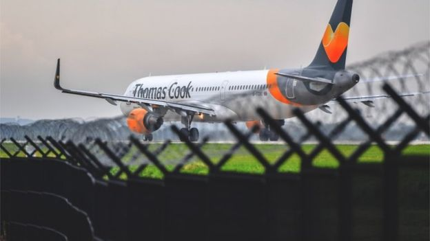 Photo of Thomas Cook Collapses As Talks Fail
