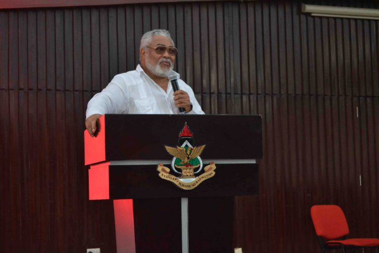 Photo of Patriotism Ghana's Biggest Challenge – Rawlings
