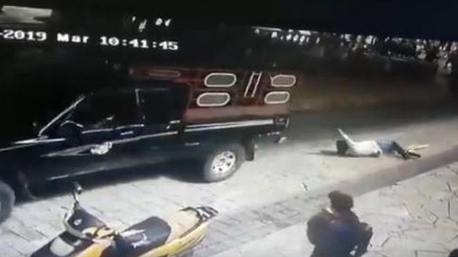 Photo of Mexico Mayor Tied To Car And Dragged Along By Angry Locals