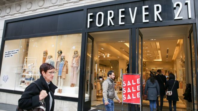 Photo of Forever 21 Files For Bankruptcy Protection