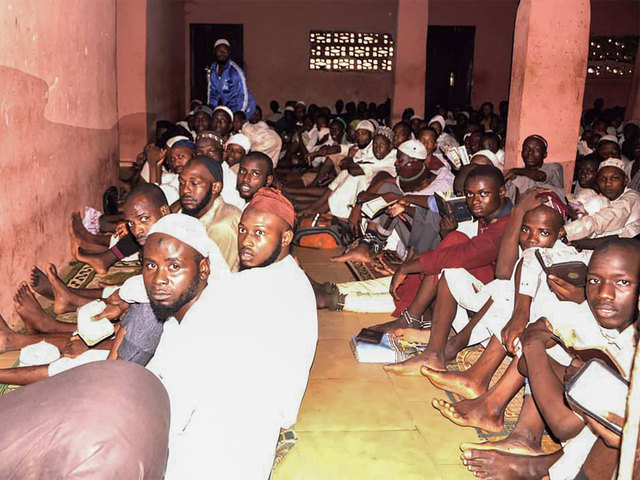 Photo of Captives Rescued From Nigeria Koranic School