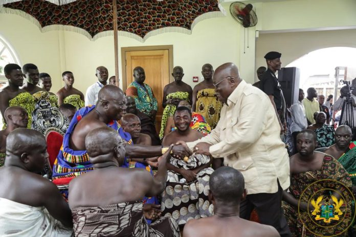Photo of Stay Focused – Otumfuo To Akufo-Addo