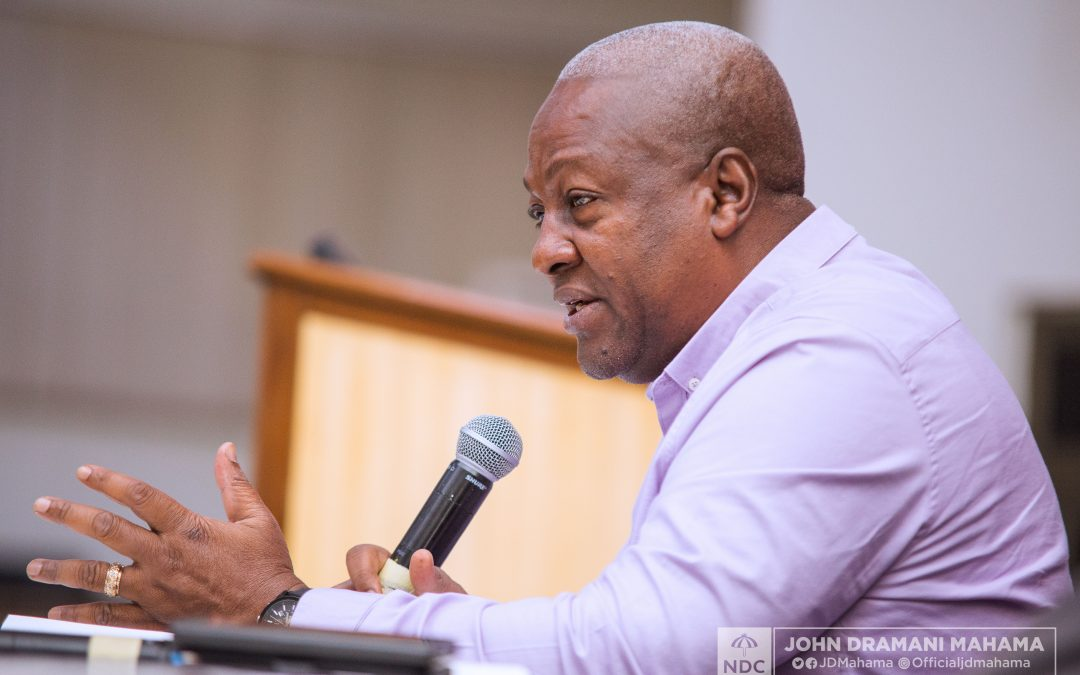 Photo of John Mahama Laments Collapse Of Local Financial Institutions