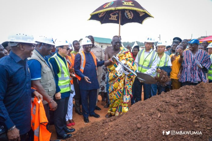 Photo of Sod-Cutting Does Not Build Roads; Release Funds – Minority To Govt