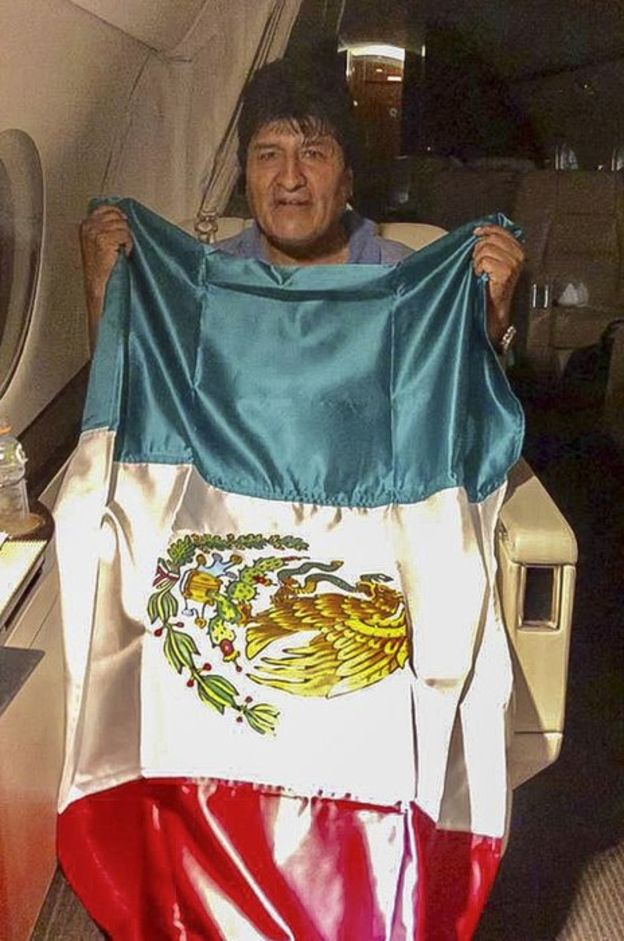 Photo of Bolivia Crisis: Evo Morales Accepts Political Asylum In Mexico