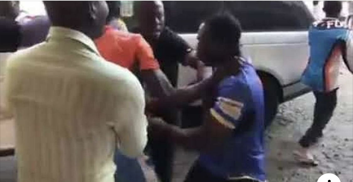 Photo of VIDEO: Zoe Outreach Embassy Pastor 'Beaten' By Angry Customers