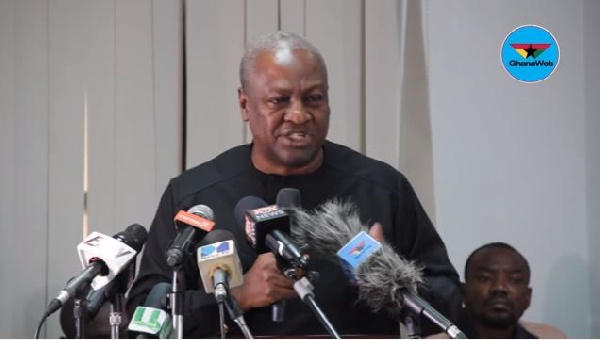 Photo of Mahama Names 'Useless' Ministry His Govt Will Scrap