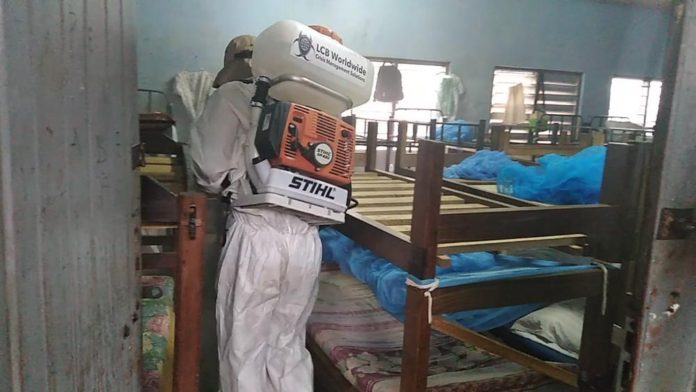 Photo of LCB Worldwide Ghana Begins Fumigation Of Schools And Markets In Ghana