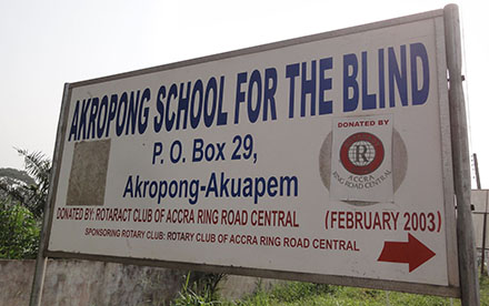 Photo of Police Arrest Akropong Blind School Chaplain For Allegedly Raping Student