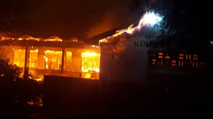 Photo of Another Fire Outbreak At Accra Academy