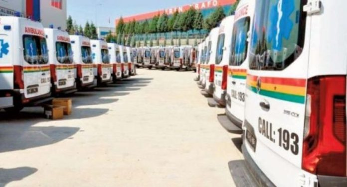 Photo of Gov't To Distribute Over 300 Ambulances Tuesday