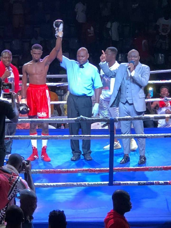 Photo of Pro Boxers Thrill At Week 1 Of Bukom Fist of Fury Fight Night Second Edition