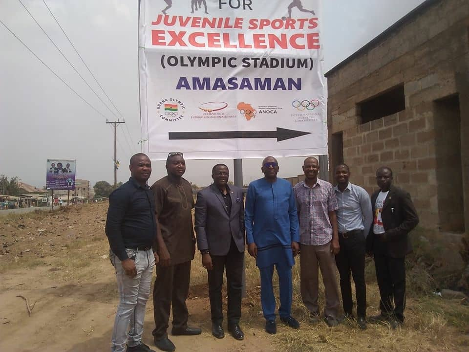 Photo of Ghana To Benefit From OlympAfrica Foundation
