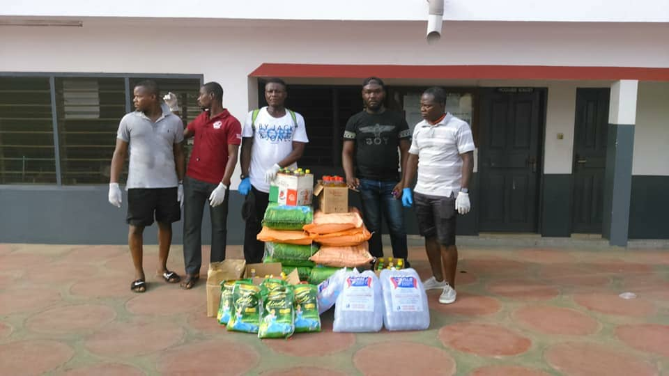 Photo of Pro Fighting Factory Ghana Donates To The Elderly At La